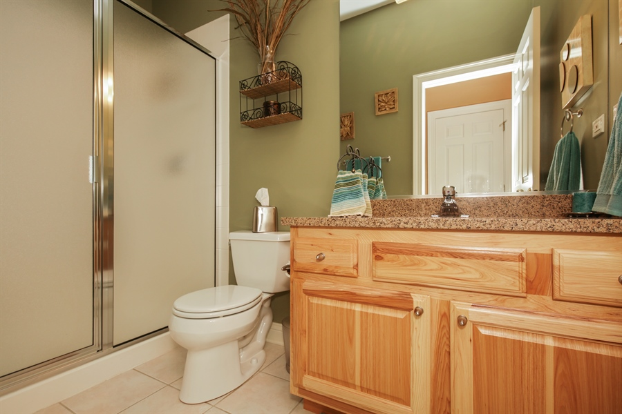 Real Estate Photography - 2811 Skyline Drive, Crystal Lake, IL, 60012 - 2nd Bathroom