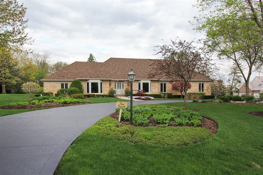 Real Estate Photography - 9 Wescott Drive, South Barrington, IL, 60010 - Front View