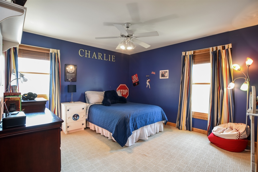 Real Estate Photography - 296 Parker Drive, Grayslake, IL, 60030 - 2nd Bedroom