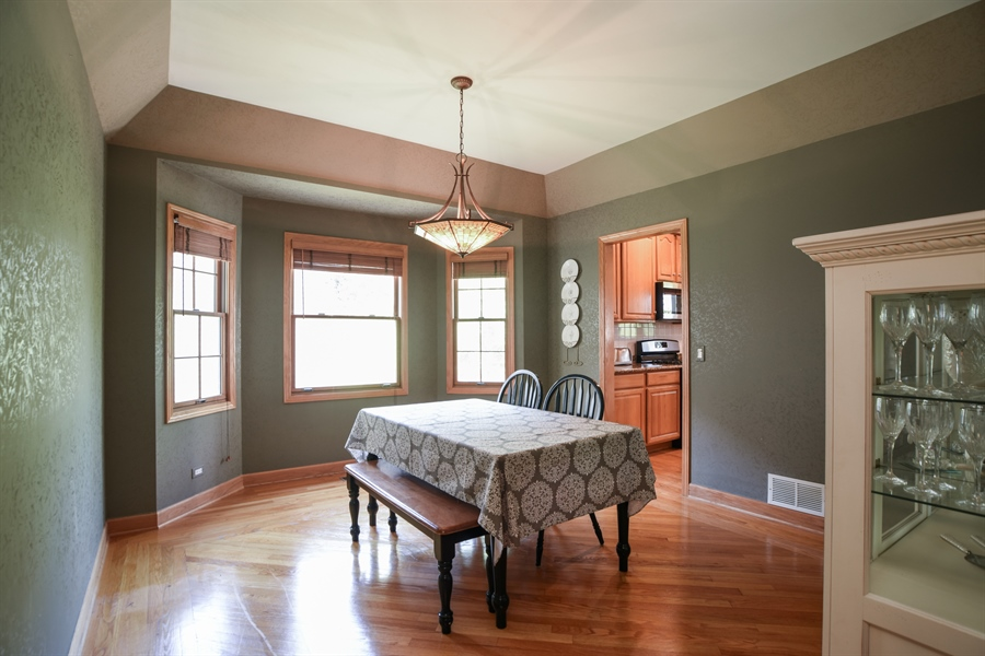 Real Estate Photography - 296 Parker Drive, Grayslake, IL, 60030 - Dining Room