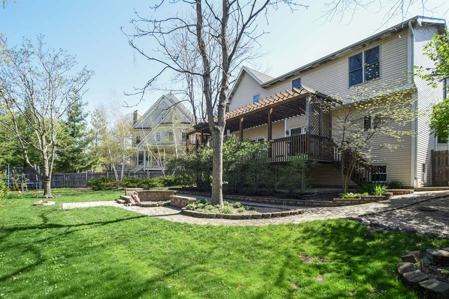 Real Estate Photography - 296 Parker Drive, Grayslake, IL, 60030 - Rear View