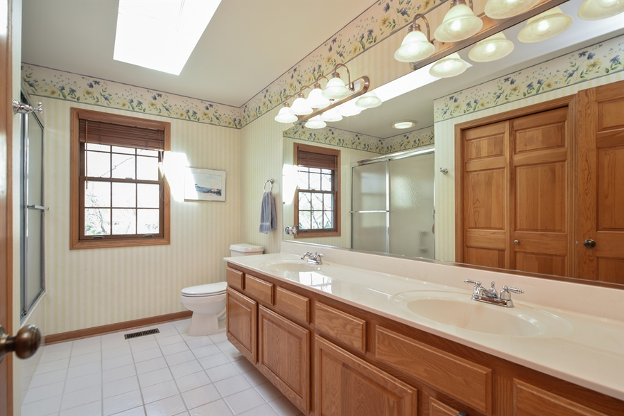 Real Estate Photography - 296 Parker Drive, Grayslake, IL, 60030 - Bathroom