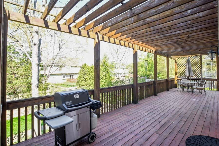 Real Estate Photography - 296 Parker Drive, Grayslake, IL, 60030 - Balcony