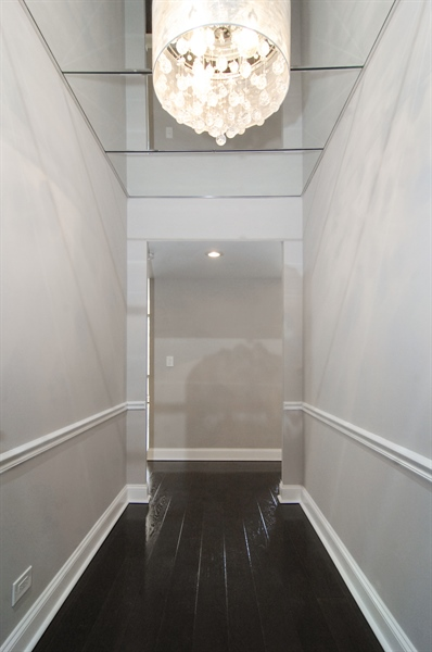 Real Estate Photography - 100 E. Bellevue Place, Unit 12C, Chicago, IL, 60611 - Foyer