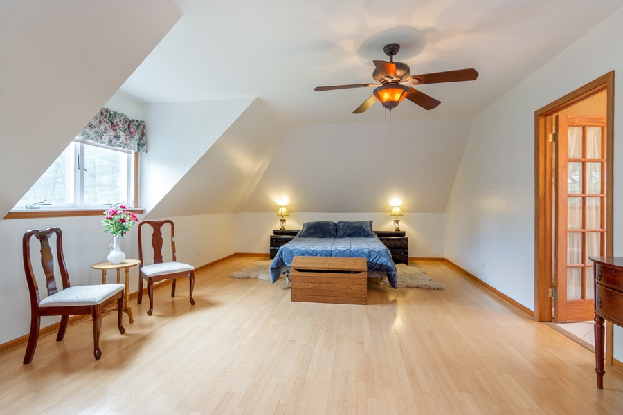 Real Estate Photography - 26166 N. Orchard Road, North Barrington, IL, 60010 - Master Bedroom