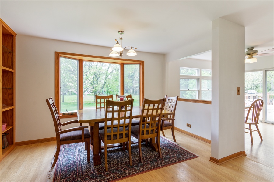 Real Estate Photography - 26166 N. Orchard Road, North Barrington, IL, 60010 - Dining Room