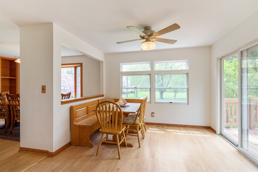 Real Estate Photography - 26166 N. Orchard Road, North Barrington, IL, 60010 - Breakfast Area