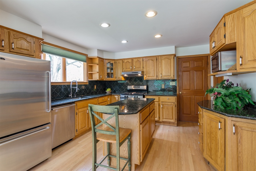 Real Estate Photography - 26166 N. Orchard Road, North Barrington, IL, 60010 - Kitchen