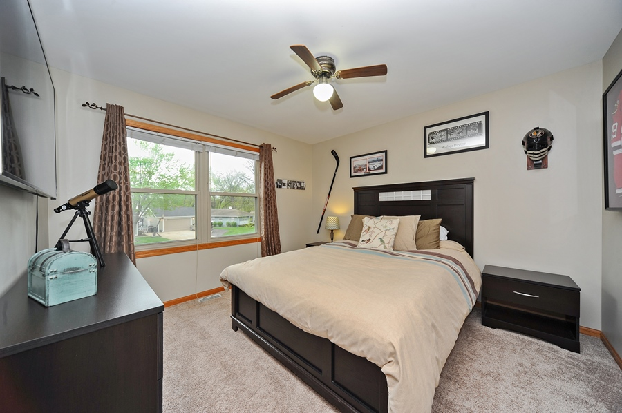 Real Estate Photography - 3616 Sigwalt St, Rolling Meadows, IL, 60008 - 3rd Bedroom