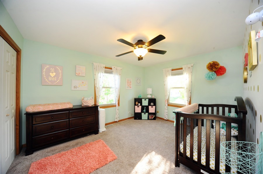 Real Estate Photography - 3616 Sigwalt St, Rolling Meadows, IL, 60008 - 4th Bedroom