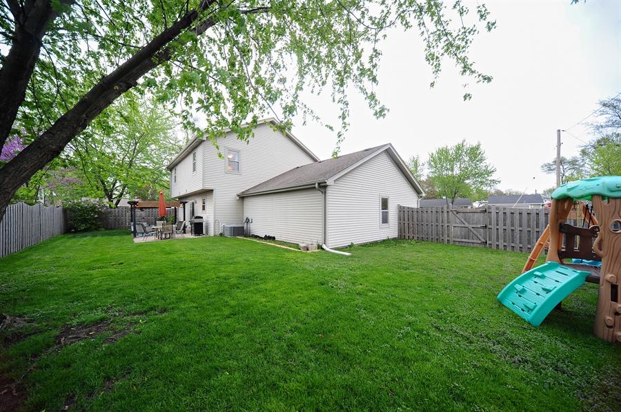 Real Estate Photography - 3616 Sigwalt St, Rolling Meadows, IL, 60008 - Back Yard