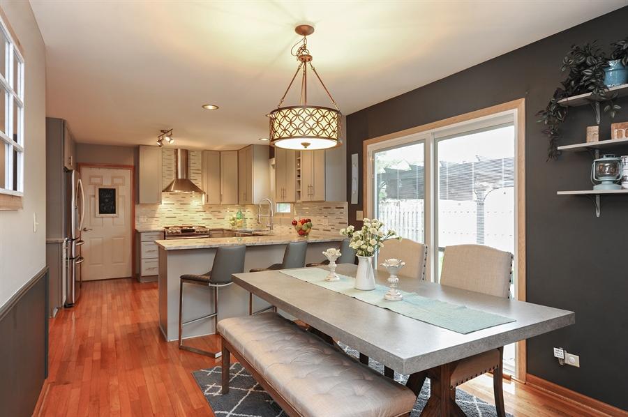 Real Estate Photography - 3616 Sigwalt St, Rolling Meadows, IL, 60008 - Breakfast Area