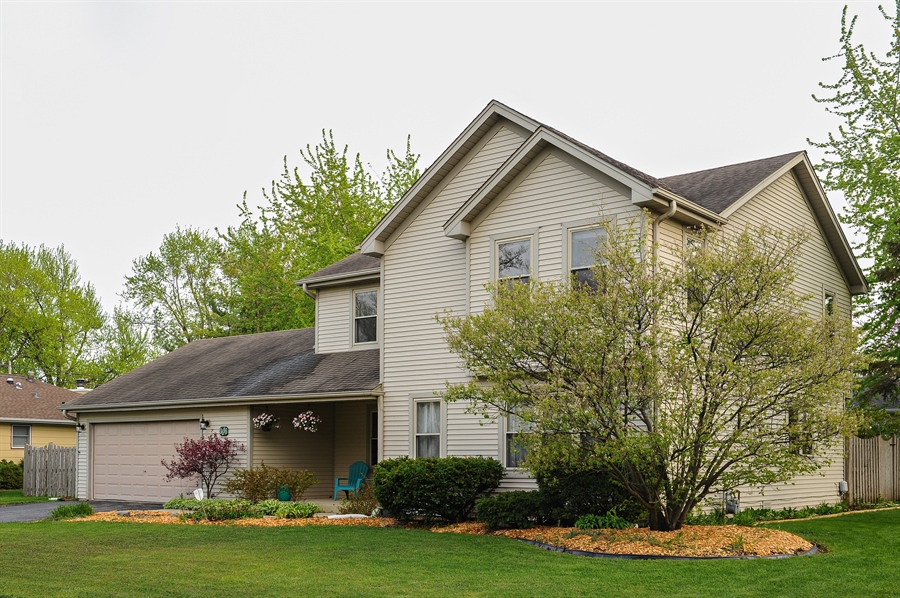 Real Estate Photography - 3616 Sigwalt St, Rolling Meadows, IL, 60008 - Side View