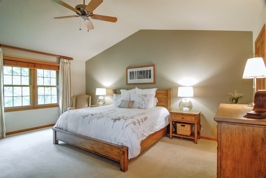 Real Estate Photography - 1536 Meadowland Drive, Naperville, IL, 60540 - Master Bedroom