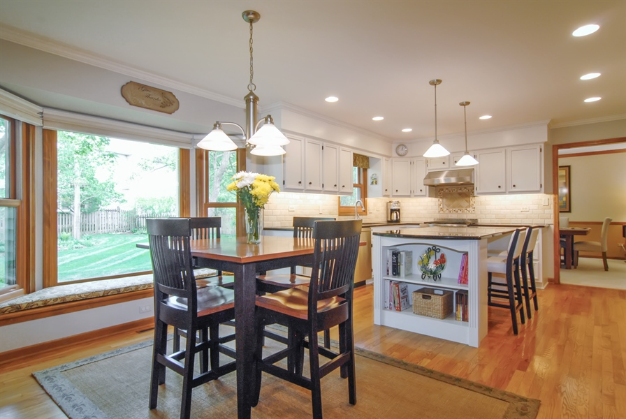 Real Estate Photography - 1536 Meadowland Drive, Naperville, IL, 60540 - Kitchen / Breakfast Room