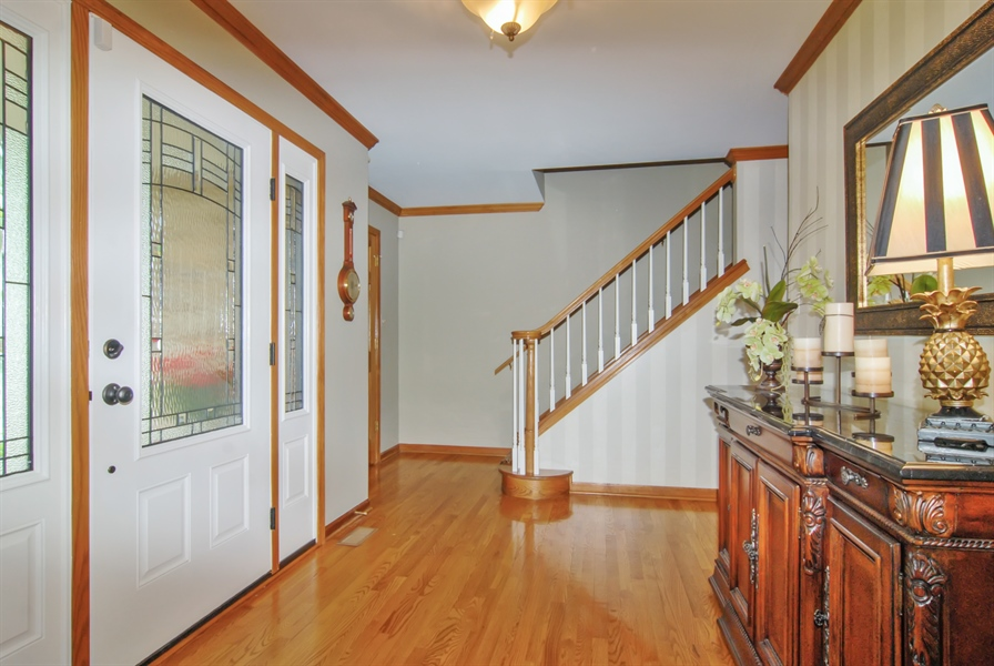 Real Estate Photography - 1536 Meadowland Drive, Naperville, IL, 60540 - Foyer