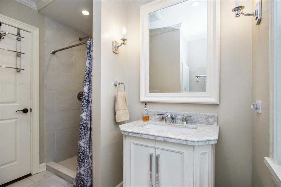 Real Estate Photography - 823 S. Arlington Heights Road, Arlington Heights, IL, 60005 - 3rd Bathroom