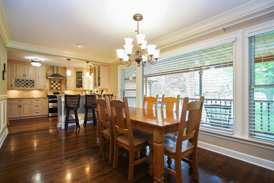 Real Estate Photography - 823 S. Arlington Heights Road, Arlington Heights, IL, 60005 - Dining Room
