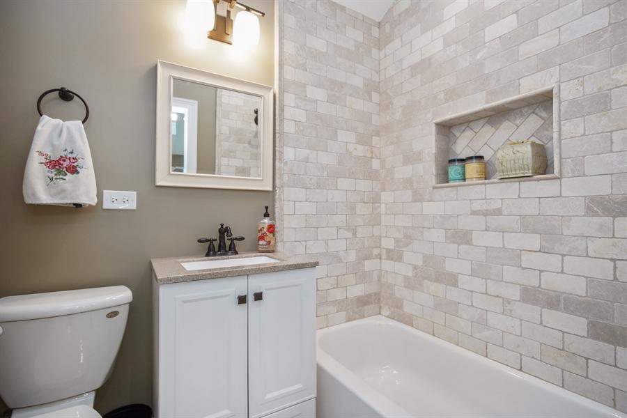 Real Estate Photography - 823 S. Arlington Heights Road, Arlington Heights, IL, 60005 - 2nd Bathroom