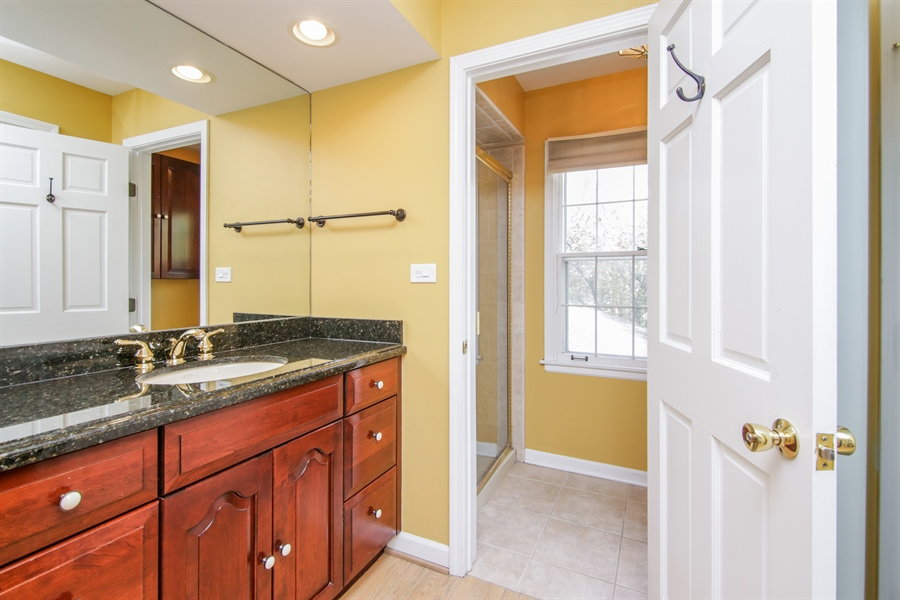 Real Estate Photography - 4024 BRITTANY Court, Northbrook, IL, 60062 - Master Bathroom