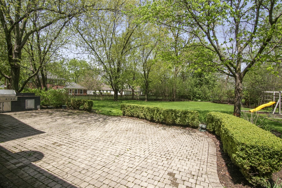 Real Estate Photography - 4024 BRITTANY Court, Northbrook, IL, 60062 - Back Yard