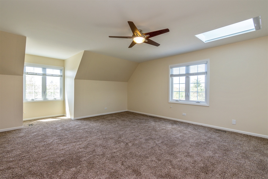 Real Estate Photography - 1980 Clover Drive, Inverness, IL, 60067 - Master Bedroom