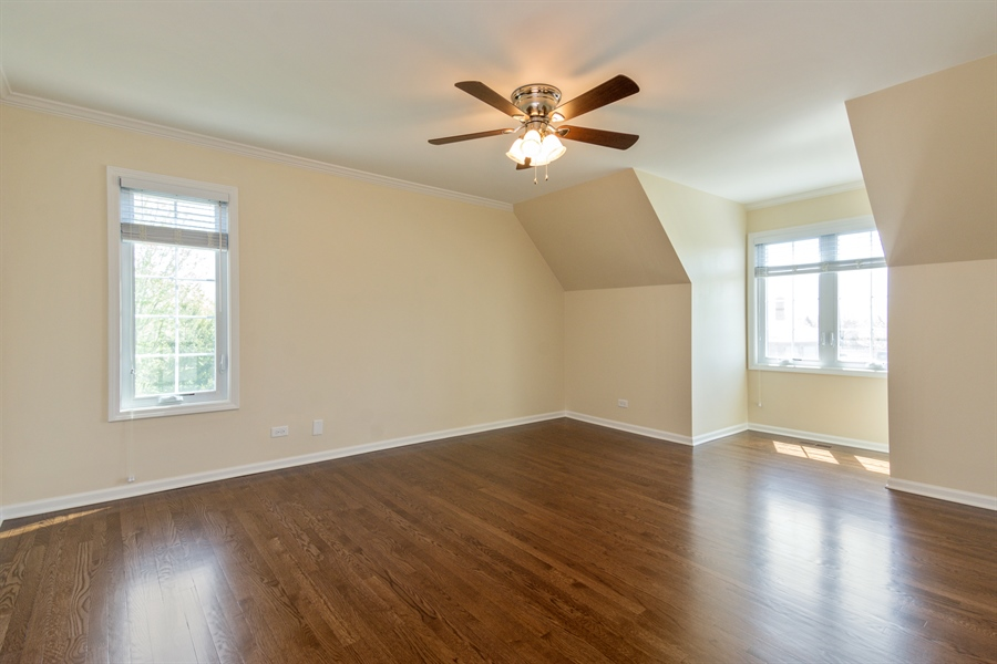 Real Estate Photography - 1980 Clover Drive, Inverness, IL, 60067 - 2nd Bedroom