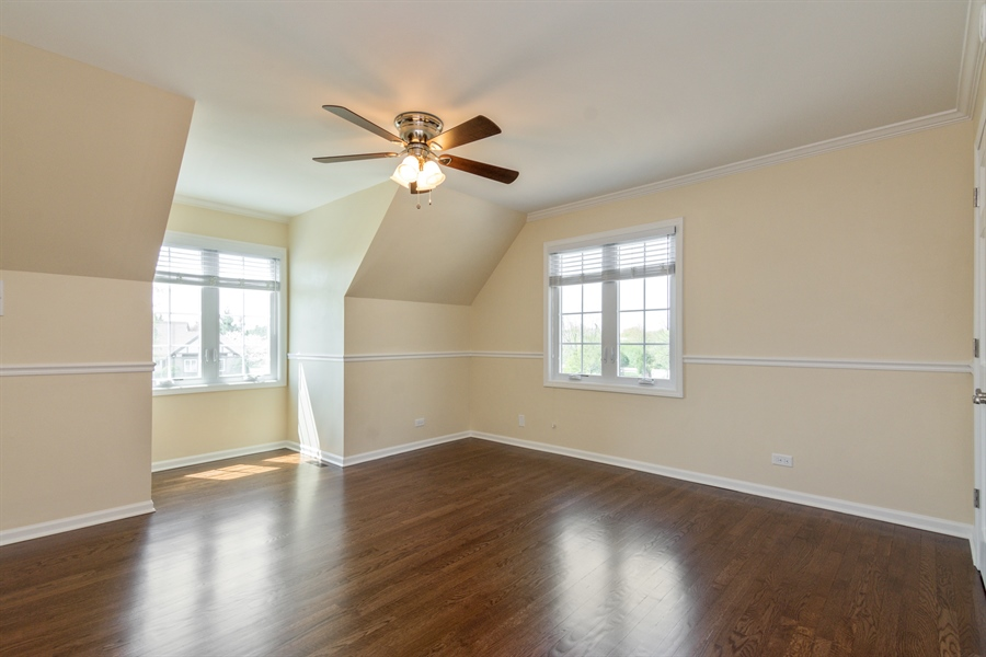 Real Estate Photography - 1980 Clover Drive, Inverness, IL, 60067 - 3rd Bedroom