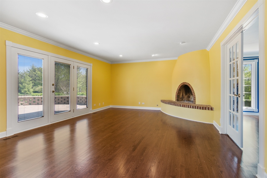Real Estate Photography - 1980 Clover Drive, Inverness, IL, 60067 - Family Room