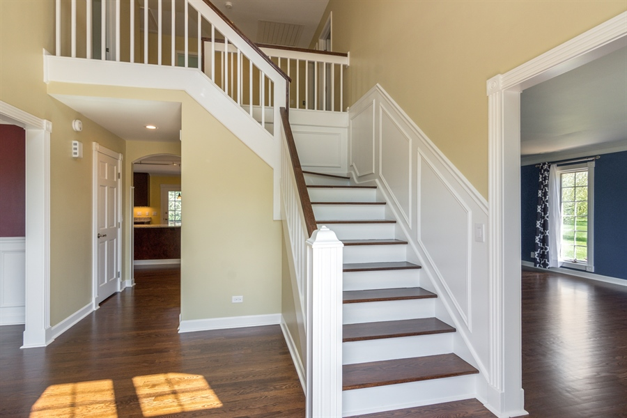 Real Estate Photography - 1980 Clover Drive, Inverness, IL, 60067 - Entryway