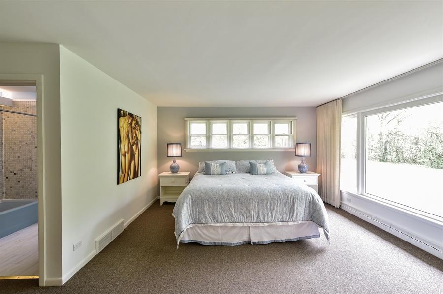 Real Estate Photography - 1929 Vollmer Road, Flossmoor, IL, 60422 - Master Bedroom