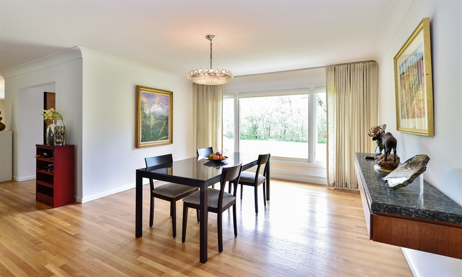 Real Estate Photography - 1929 Vollmer Road, Flossmoor, IL, 60422 - Dining Room