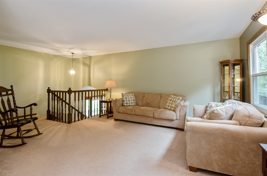 Real Estate Photography - 710 N. Vista Drive, Algonquin, IL, 60102 - Living Room