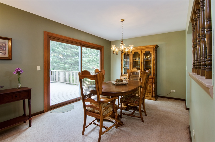 Real Estate Photography - 710 N. Vista Drive, Algonquin, IL, 60102 - Dining Room