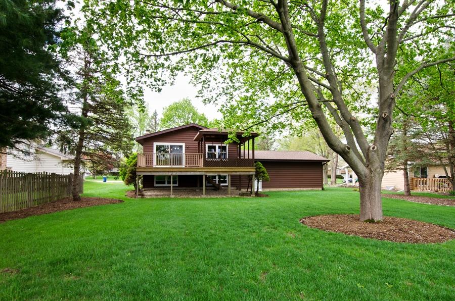 Real Estate Photography - 710 N. Vista Drive, Algonquin, IL, 60102 - Rear View