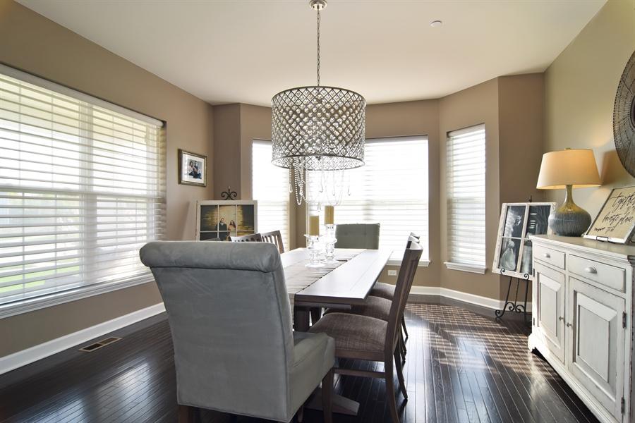 Real Estate Photography - 3597 Harold Circle, Hoffman Estates, IL, 60192 - Dining Room