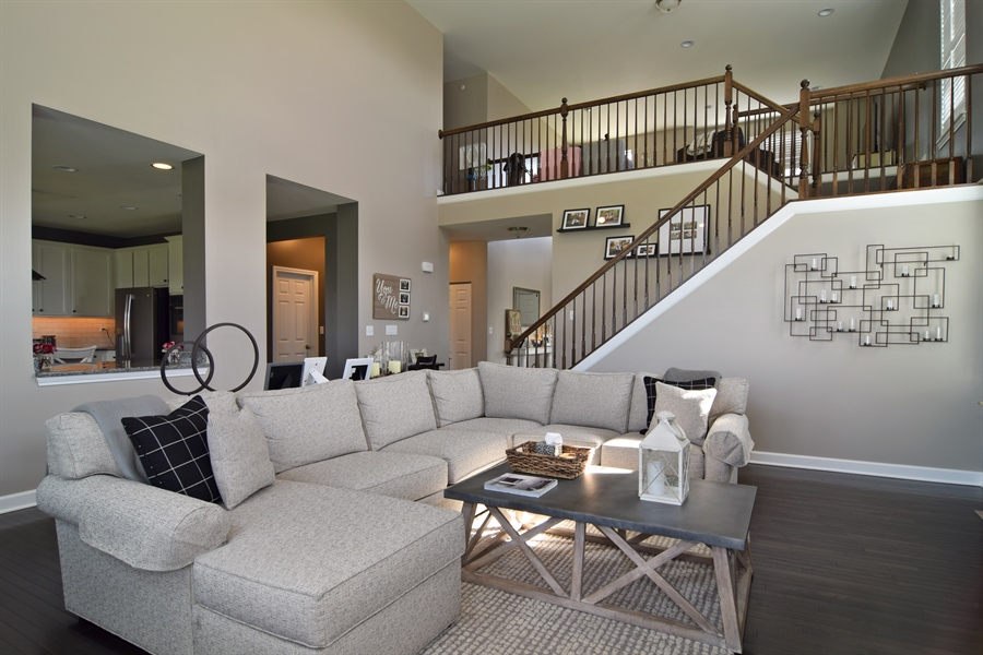 Real Estate Photography - 3597 Harold Circle, Hoffman Estates, IL, 60192 - Entertainment Room