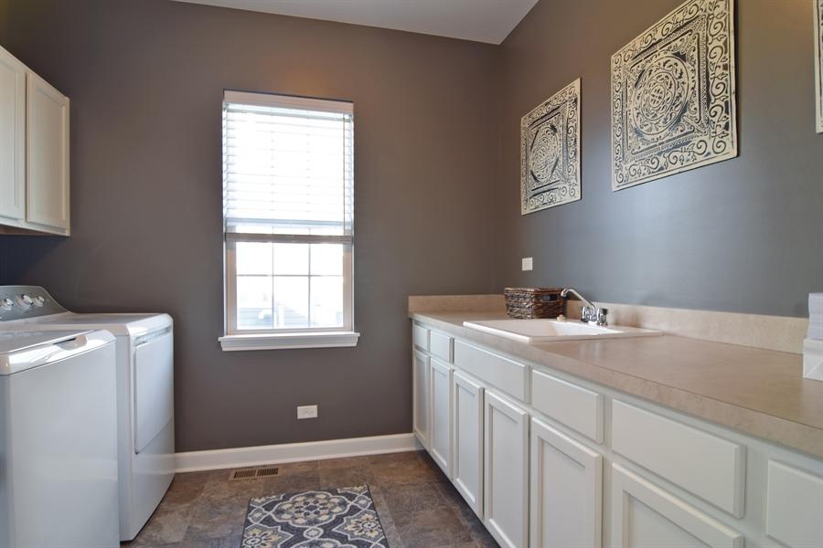 Real Estate Photography - 3597 Harold Circle, Hoffman Estates, IL, 60192 - Laundry Room