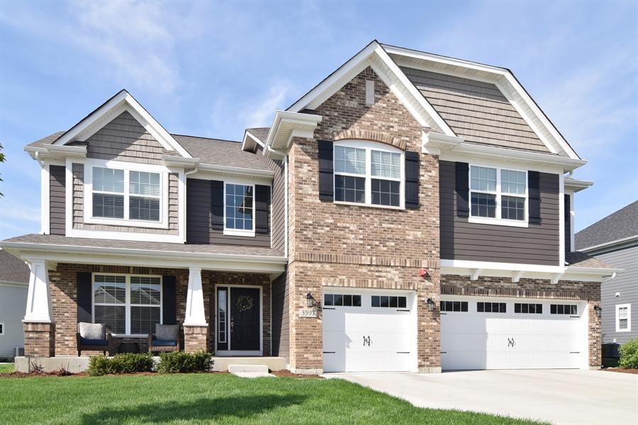 Real Estate Photography - 3597 Harold Circle, Hoffman Estates, IL, 60192 - Front View