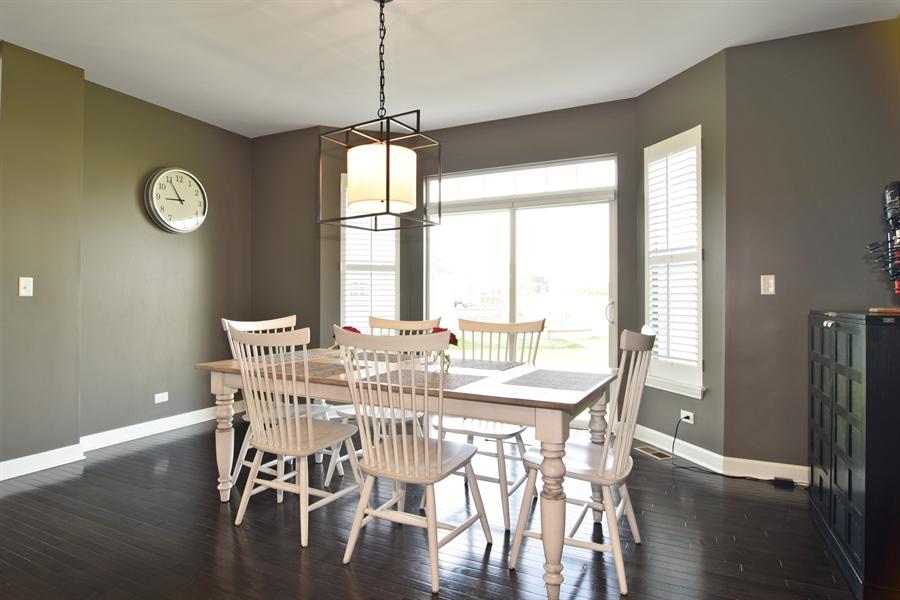 Real Estate Photography - 3597 Harold Circle, Hoffman Estates, IL, 60192 - Breakfast Nook