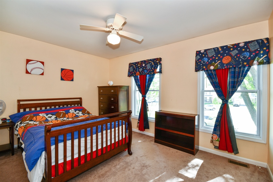 Real Estate Photography - 1920 WITT Court, Lombard, IL, 60148 - 4th Bedroom