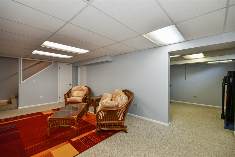 Real Estate Photography - 1920 WITT Court, Lombard, IL, 60148 - Basement