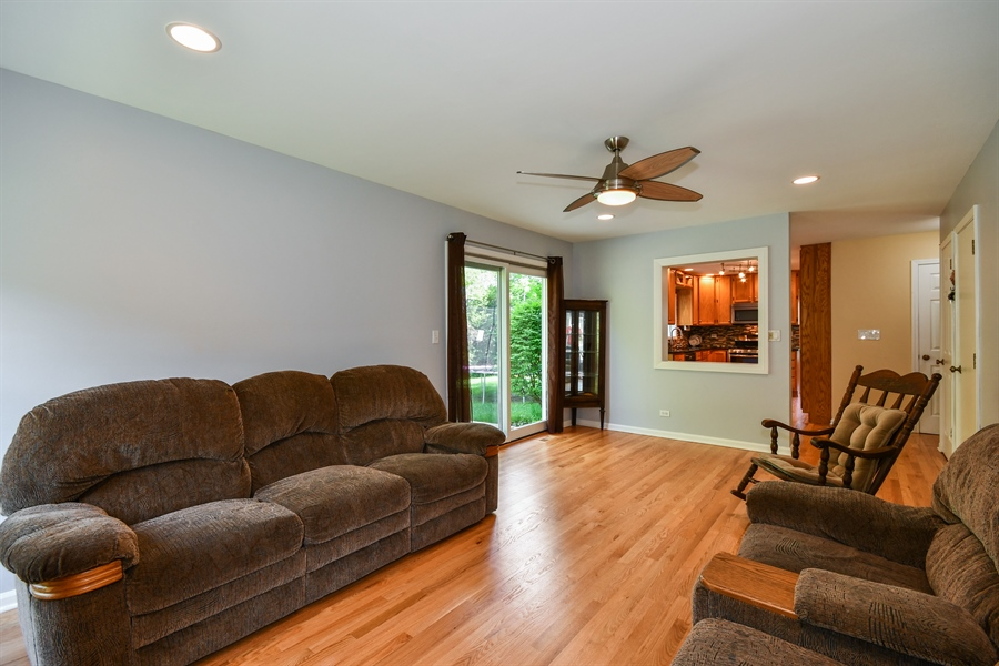 Real Estate Photography - 1920 WITT Court, Lombard, IL, 60148 - Family Room