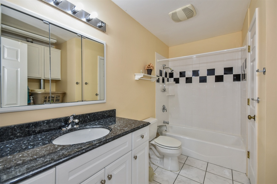 Real Estate Photography - 1920 WITT Court, Lombard, IL, 60148 - 2nd Bathroom