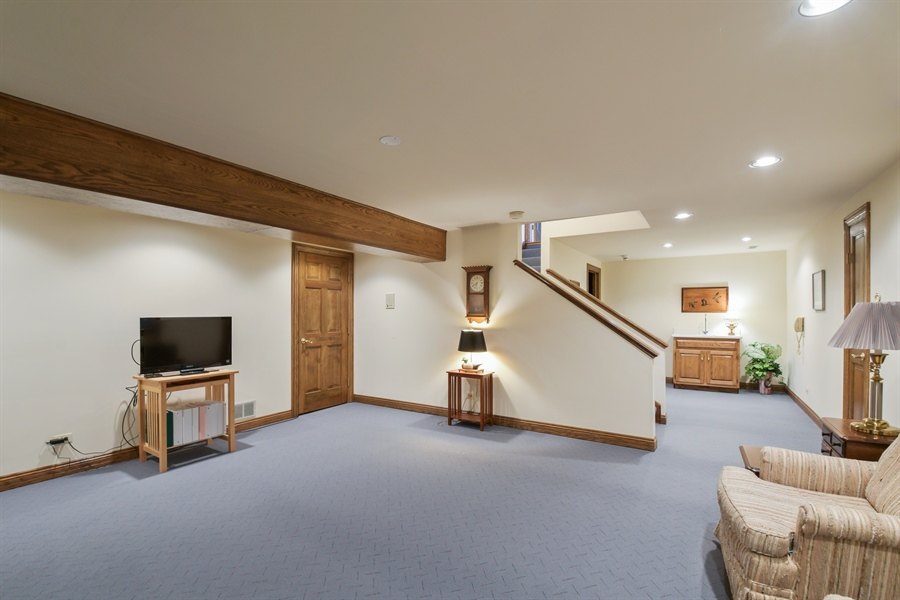 Real Estate Photography - 1303 Brandywine Road, Libertyville, IL, 60048 - Basement
