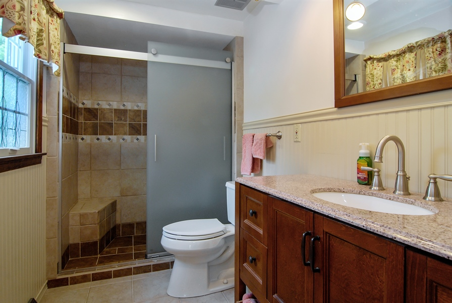 Real Estate Photography - 0S129 Surrey Drive, Elburn, IL, 60119 - Master Bathroom