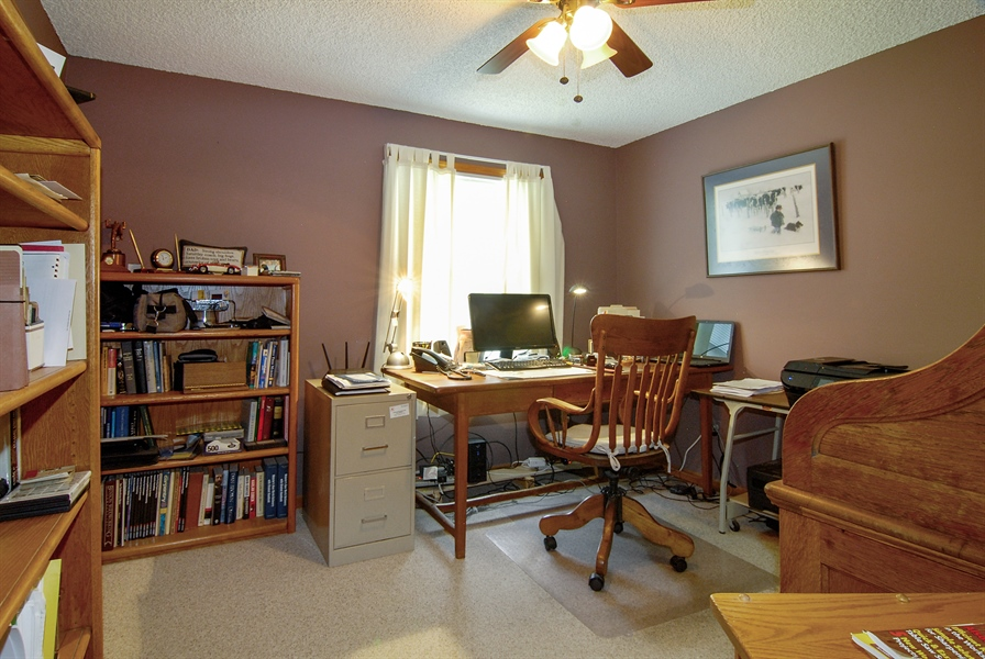 Real Estate Photography - 0S129 Surrey Drive, Elburn, IL, 60119 - 2nd Bedroom