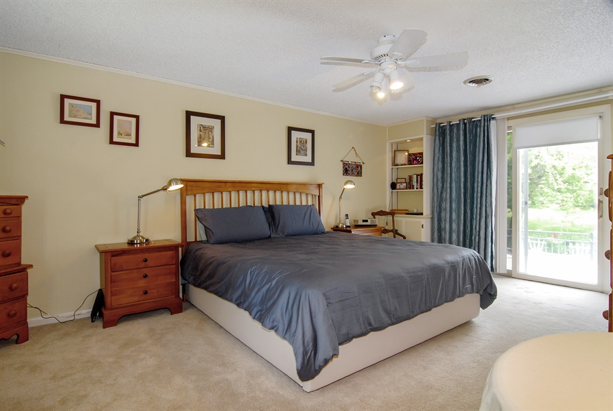 Real Estate Photography - 0S129 Surrey Drive, Elburn, IL, 60119 - Master Bedroom