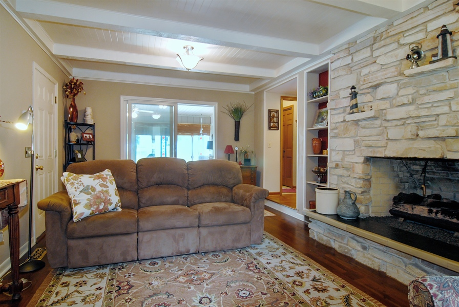 Real Estate Photography - 0S129 Surrey Drive, Elburn, IL, 60119 - Family Room