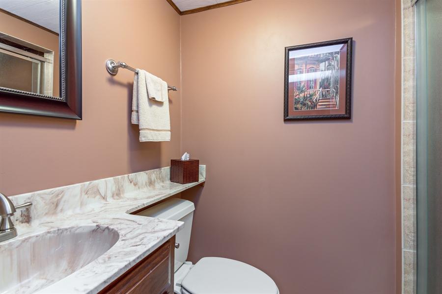 Real Estate Photography - 210 Cambridge Road, Des Plaines, IL, 60016 - 3rd Bathroom